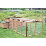 CHICKEN COOP - HEN HOUSE w/ LARGE RUN XXXL