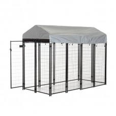 Welded Wire Kennel - 4 x 8 x 6ft