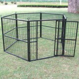 SOLID HEAVY DUTY DOG PEN 100 x 120CM x 8 Panels