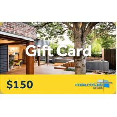 $150 Hercules Gift Card