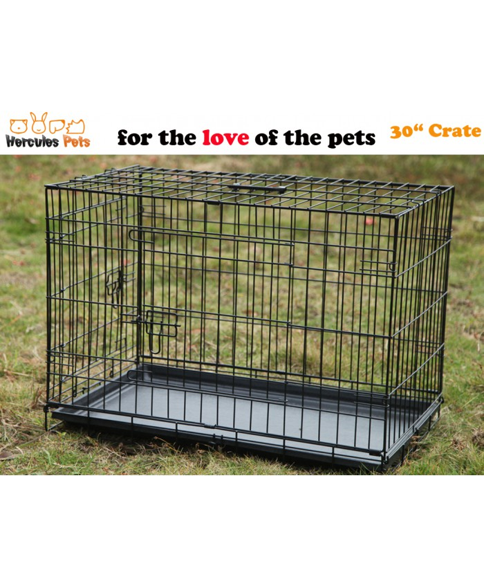 "30"" Collapsible Metal Crate"