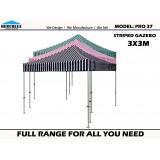 Stripe Pro 37 3m x 3m Standard Package