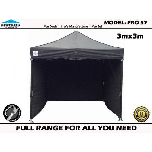 GAZEBO Hercules II PRO 57 3x3m + Walls Package
