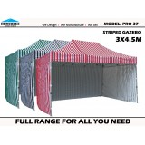 Stripe Pro 37 3m x 4.5m with Walls Package