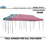 Stripe Pro 37 3m x 6m  Standard Package
