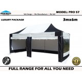 PRO 57 3M X 6M Luxury Walls Package