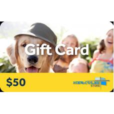 $50 Hercules Gift Card