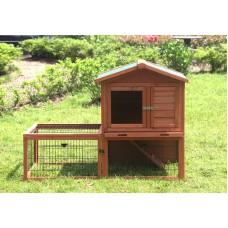 Rabbit Hutch with Run (Pet 021)