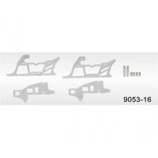 9053-16 Main frame decorated aluminium plates