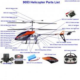 9053 Parts