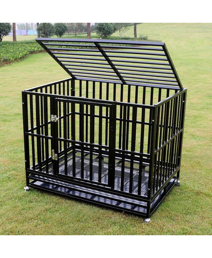 "42"" Heavy Duty Dog Crate - Professional"