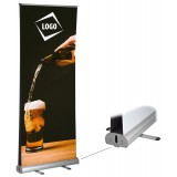 DOUBLE SIDED ROLL UP / PULL UP BANNER - PVC