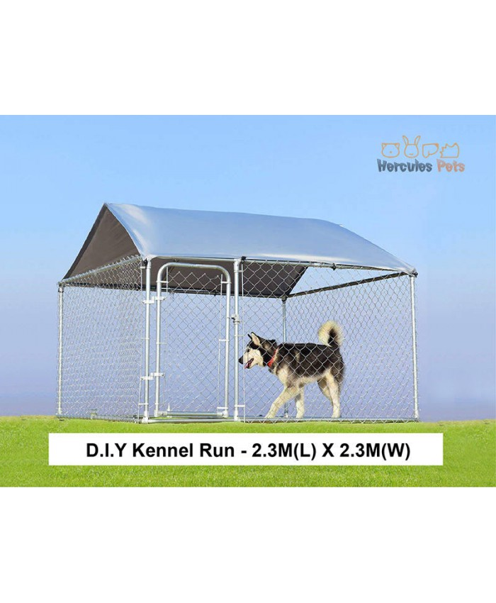 D.I.Y Box Kennel - 2.3M X 2.3M X 1.2M