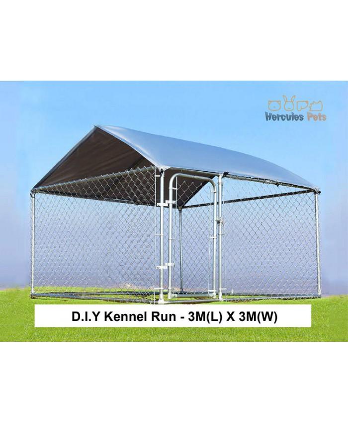 D.I.Y Box Kennel - 3M X 3M X 1.82M