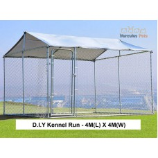 D.I.Y Box Kennel  - 4M X 4M X 1.82M