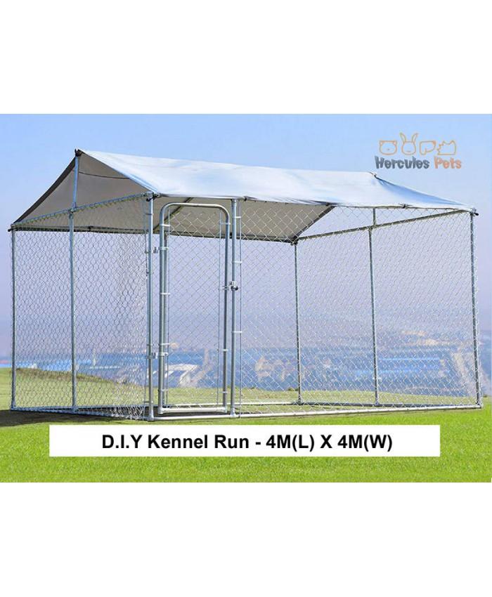 D.I.Y Box Kennel  - 4M X 4M X 1.82M