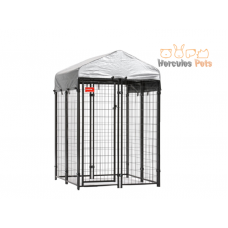 Welded Wire Kennel - 4 x 4 x 6ft