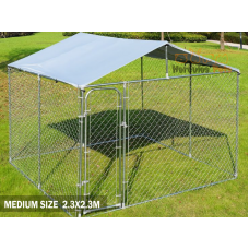 Pet Run with cover - 2.3M X 2.3M X 1.2M