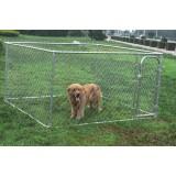 Dog Run - DIY Chin Link Dog Kennel - 2.3x2.3x1.2m