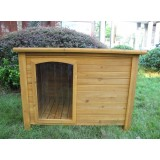 DOG KENNEL XL WOODEN KENNEL W/PVC TOP MODEL