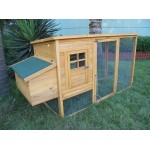 Hercules Pet Modern Rabbit Hutch Chicken Coop