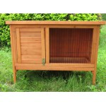 RABBIT GUINEA PIG HUTCH w tray
