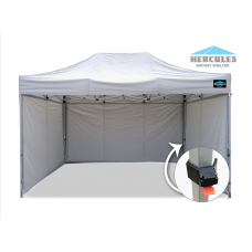 Alloy Gazebo HEX 45A 3x4.5m + 3 wall package
