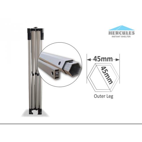 HEX 45A 2.5 x 2.5m