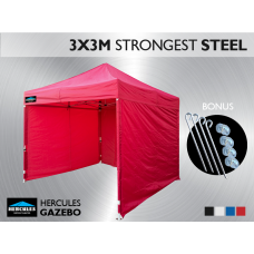 Gazebo HEX 45S 3X3m + 3 Wall package