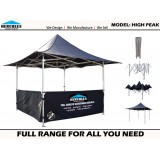 GAZEBO - HERCULES II PRO 57 HIGH PEAK 3X3M EVENT TENT
