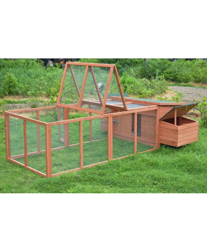 CHICKEN COOP + RUN XXXL