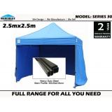 Series 30 2.5x2.5m wall package Pop Up Gazebo