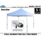 Pro 37 3m x 3m  Standard Package
