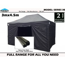 Series 30 3x4.5m + 4 walls Pop Up Gazebo