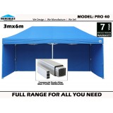PRO 40 3m X 6M With walls Package