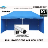 PRO 57 3m x 6m With Walls Package