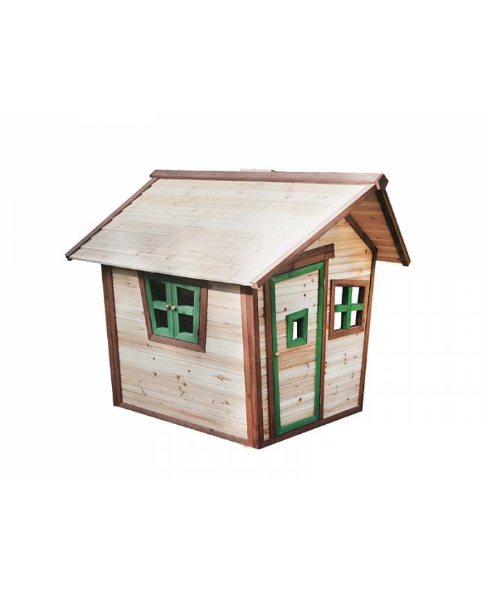 Wooden Outdoor Playhouse for Kids -  143x157x146cm (PH 011)