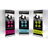 Extreme Roll Up / Pull Up Banner (Signature Series) - PVC