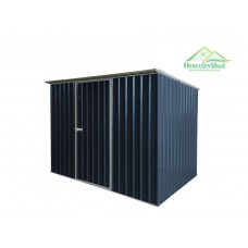 Shed 2.57 x 1.7 x 2m - Dark Grey
