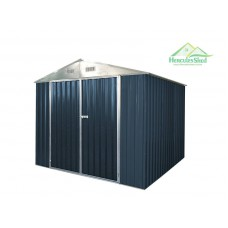 Shed 2.57 X 2.57 x 2.13m -  Dark Grey