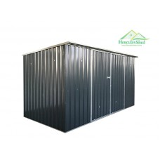 Shed 3.41 x 1.73 x 2m - Dark Grey