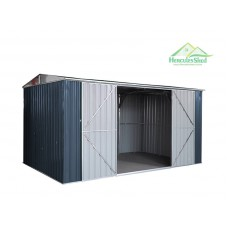 Shed 4.25 x 2.57 x 2.14m - Dark Grey