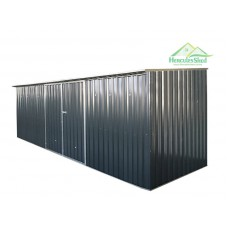 Shed 5.93 x 1.73 x 2m - Dark Grey