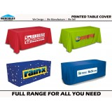 Full color branding table cover