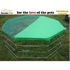 Play Pen 60 x 60cm x 8 with cover