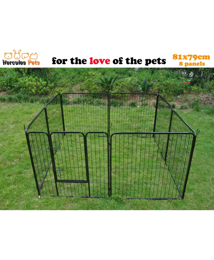 Pet Enclosure 80x79cm - Durable Iron construction