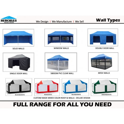 Pro 37 3m x 6m with Walls Package