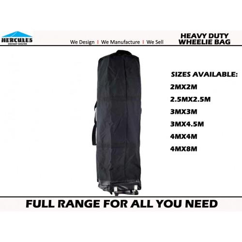 GAZEBO Hercules HEAVY DUTY Wheeled Carry Bag 3x6m