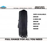 GAZEBO HEAVY DUTY Wheeled Carry Bag 3x3m