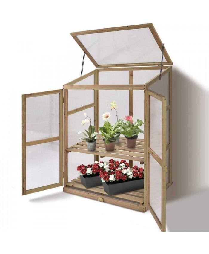 Portable Wooden Planter